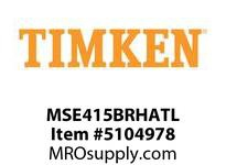 TIMKEN MSE415BRHATL Split CRB Housed Unit Assembly