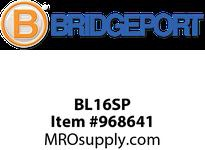 "Bridgeport BL16SP 3/8"" SNAP-IN AC/MC/FMC CBL CON"