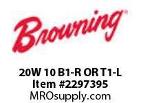 Morse 20W 10 B1-R OR T1-L W REDUCERS 0 - 2.9