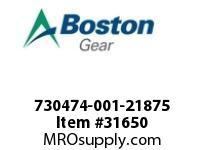 "BOSTON 77866 730474-001-21875 ROTOR 5F 2.1875"" STY.-1"