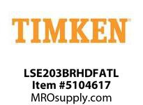 TIMKEN LSE203BRHDFATL Split CRB Housed Unit Assembly