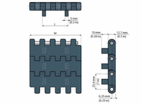 System Plast AA2501579 NGE2251FT-PT-K330 MPB-INCH