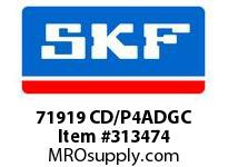SKF-Bearing 71919 CD/P4ADGC