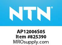 NTN AP12006S05 Extra Small/Small Ball Bearing