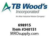 TBWOODS 698915 698915 10SX2.000 SF