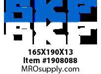 SKFSEAL 165X190X13 CRSH13 R SMALL BORE SEALS