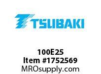 US Tsubaki 100E25 100E25 QD SPKT HT