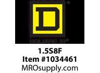 SquareD 1.5S8F TRANSFORMER DRY 1PH 1.5KVA 277V-120/240V 1.5KVA 277V-120/240V