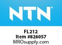 NTN FL212 Bearing Units - Cast Housing