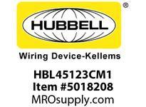HBL_WDK HBL45123CM1 CORD REEL W/L520P PLUG & HBL5269C CONN