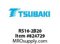 US Tsubaki RS16-2B20 16-2B20 20MM SB DBL HT