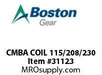 BOSTON 75698 CMBA COIL 115/230 CMBA COIL 115/230 VAC
