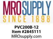 """MRO OPEN ENDS BY WIDTH MATERIAL:PVC200 BLACK C x FS WIDTH: 12"""""""
