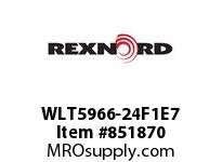 REXNORD WLT5966-24F1E7 WLT5966-24 F1 T7P N1.5 WLT5966 24 INCH WIDE MATTOP CHAIN W