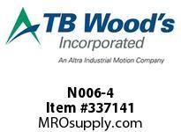 TBWOODS N006-4 6A-4-SDS NLS CLUTCH