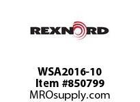REXNORD WSA2016-10 WSA2016-10 WSA2016 10 INCH WIDE MATTOP CHAIN W