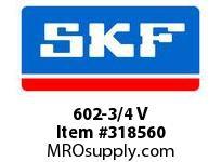 SKF-Bearing 602-3/4 V