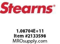 STEARNS 108704200155 BR-VATHRU SHAFTBRASSSW 8015747