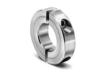 Climax Metal H2C-025-S 1/4^ ID Large 2pc Stnls Shaft Collar