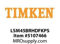 TIMKEN LSM45BRHDFKPS Split CRB Housed Unit Assembly
