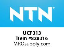 NTN UCF313 Mounted Units (Cast Iron)