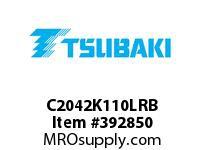 US Tsubaki C2042K110LRB C2042 RIV 10L/K-1