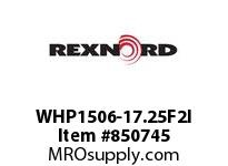 REXNORD WHP1506-17.25F2I WHP1506-17.25 F2 T37PN.75 WHP1506 17.25 INCH WIDE MATTOP CHAI