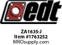 EDT ZA1635-J SS RADIAL BALL BRG W/ FG SOLID LUBE