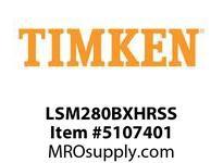 TIMKEN LSM280BXHRSS Split CRB Housed Unit Assembly