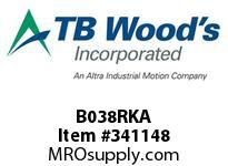 TBWOODS B038RKA REPAIR KIT 6 BOLT SINGLE CL A