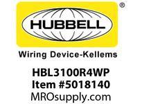 HBL_WDK HBL3100R4WP PSIECRECP2P3W100A 125V4X/IP69KPILOT