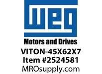 WEG VITON-45X62X7 VITON SEAL FOR 250 FR. DE Motores