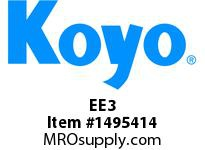 Koyo Bearing EE3 INTERCHANGES W/ R6