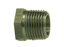 MRO 67502 3/8X1/4 MXF BLACK STEEL HEX BUSH (Package of 10)