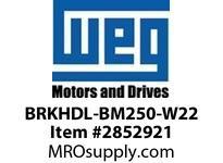 WEG BRKHDL-BM250-W22 BRAKE HANDLE 250 Motores