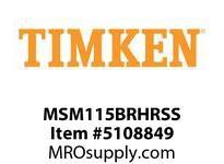 TIMKEN MSM115BRHRSS Split CRB Housed Unit Assembly