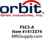 Orbit FSC5-A SLIDE FAN SPEED CONTROL SINGLE POLE FULLY VARIABLE 120V 5A