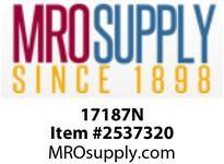 MRO 17187N 3/8 X 1/8 COMPXMIP WHT NYLN ADPT