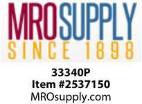 MRO 33340P 1/4 BARB X 1/2 FIP PP ELBOW