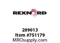 REXNORD 209013 594697 500.S54RD.CPLG STR