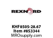 REXNORD KHF8505-28.67 KHF8505-28.67 KHF8505 28.67 INCH WIDE MATTOP CHAI