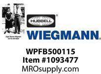 WIEGMANN WPFB500115 10^ FILTERED VBOX FAN 115V