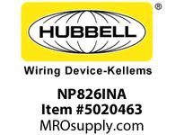 HBL_WDK NP826INA WALLPLATE 2-G 1) DUP 1) REC IVORY
