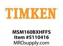 TIMKEN MSM160BXHFFS Split CRB Housed Unit Assembly