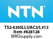 NTN TS2-6305LLUAC3/L#13 SMALL SIZE BALL BRG