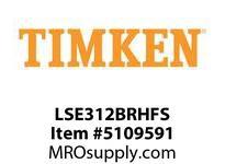 TIMKEN LSE312BRHFS Split CRB Housed Unit Assembly