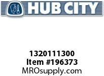 HUBCITY 1320111300 B220RX2S DURALINE BEARING INSERT