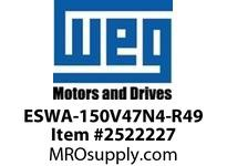 WEG ESWA-150V47N4-R49 FVNR 125HP/460V T-A 4 480V Panels