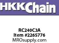 "HKK 240-3C triple chain 3"" pitch cotter"