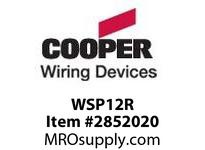CPR-WDK WSP12R WM OccSen PIR Wide 1200ft Relay WH